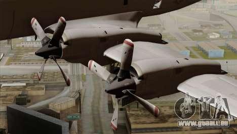 Lockheed P-3C Orion JMSDF Shimofusa pour GTA San Andreas vue de droite