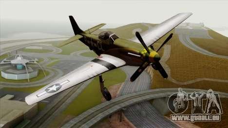 P-51D Mustang Da Quake pour GTA San Andreas