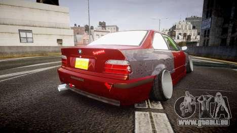BMW M3 E36 Stance für GTA 4 hinten links Ansicht