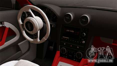 Audi S3 2011 pour GTA San Andreas vue de droite