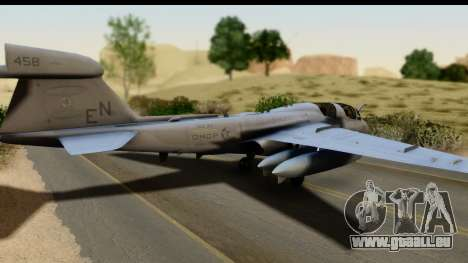 Northrop Grumman EA-6B VAQ-194 Skyshields für GTA San Andreas linke Ansicht