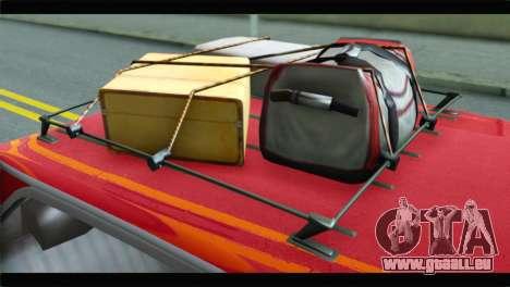 GTA 5 Benefactor Glendale für GTA San Andreas Rückansicht