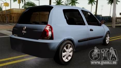Renault Clio Mio 3P pour GTA San Andreas laissé vue