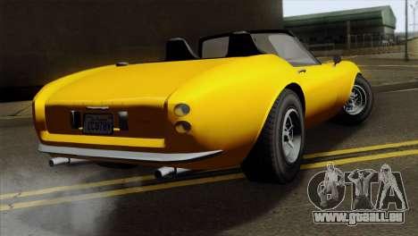 GTA 5 Grotti Stinger v2 pour GTA San Andreas laissé vue