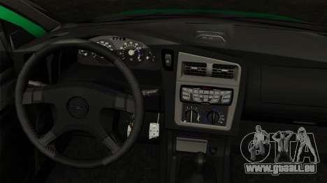 Opel Astra G 1999 Police pour GTA San Andreas sur la vue arrière gauche