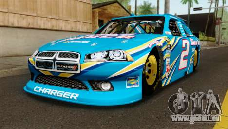 NASCAR Dodge Charger 2012 Plate Track für GTA San Andreas