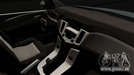Chevrolet Cruze Hatchback pour GTA San Andreas sur la vue arrière gauche