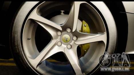 NFS Rivals Ferrari FF Cop für GTA San Andreas Rückansicht