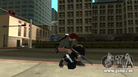 Guns Pack pour GTA San Andreas troisième écran