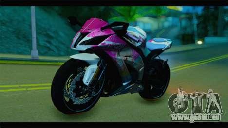 Kawasaki Ninja ZX-10R Super Sonico Itansha pour GTA San Andreas