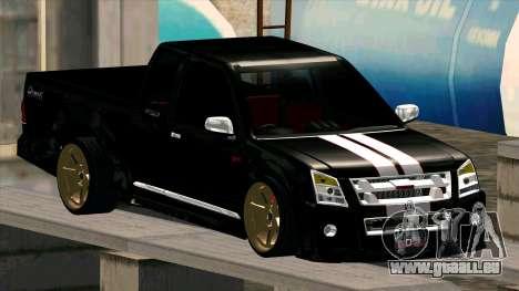 Isuzu D-Max X-Series pour GTA San Andreas vue de côté