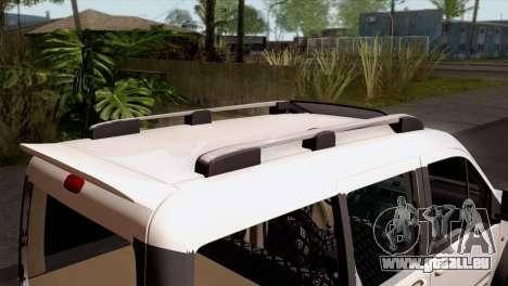 Ford Connect pour GTA San Andreas vue arrière
