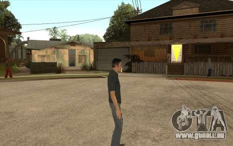 John Tanner DRIV3R pour GTA San Andreas troisième écran