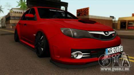 Subaru Impreza WRX STI Stanced pour GTA San Andreas