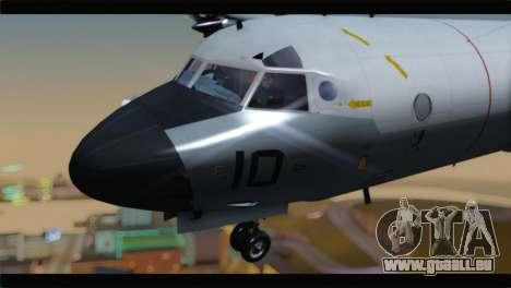 Lockheed P-3C Orion US Navy VP-24 pour GTA San Andreas vue arrière