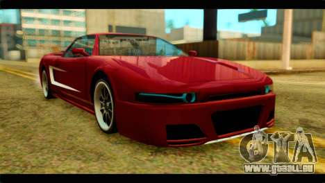 Infernus Rapide S Stock pour GTA San Andreas