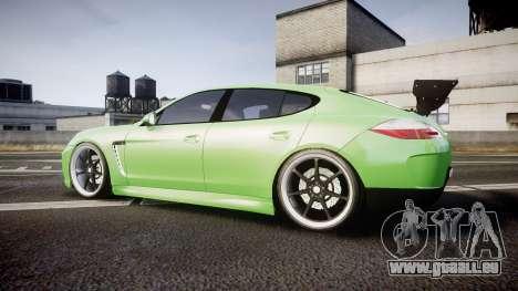 Porsche Panamera Turbo 2010 pour GTA 4 est une gauche