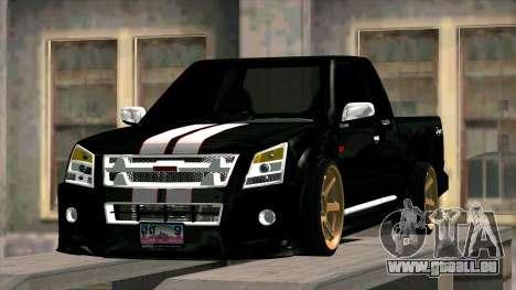 Isuzu D-Max X-Series pour GTA San Andreas