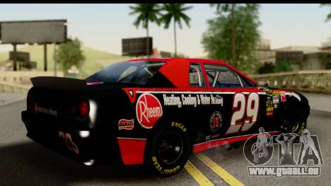 Elegy NASCAR PJ für GTA San Andreas linke Ansicht