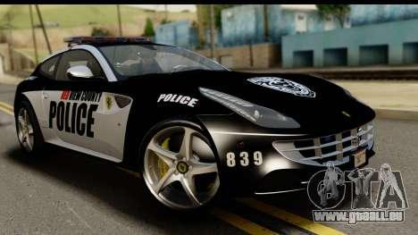 NFS Rivals Ferrari FF Cop pour GTA San Andreas