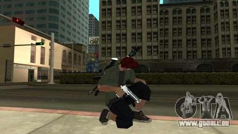 Guns Pack pour GTA San Andreas deuxième écran