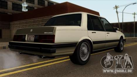 GTA 4 Willard II pour GTA San Andreas laissé vue
