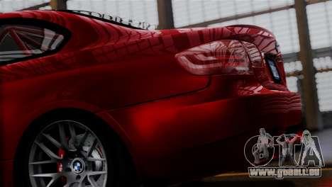 BMW M3 E92 GTS 2012 v2.0 Final pour GTA San Andreas laissé vue