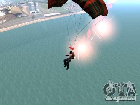 Le Parachute Flare pour GTA San Andreas quatrième écran