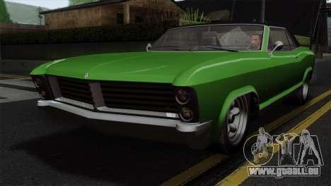 GTA 5 Albany Buccaneer IVF pour GTA San Andreas