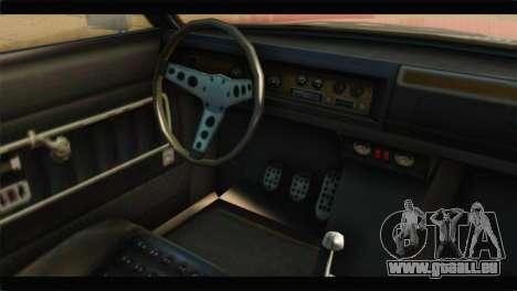 GTA 5 Benefactor Glendale IVF für GTA San Andreas rechten Ansicht