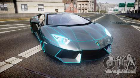 Lamborghini Aventador TRON Edition [EPM] Updated pour GTA 4