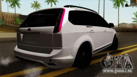Ford Focus Wagon für GTA San Andreas linke Ansicht