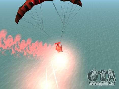 Der Fallschirm Flare für GTA San Andreas fünften Screenshot