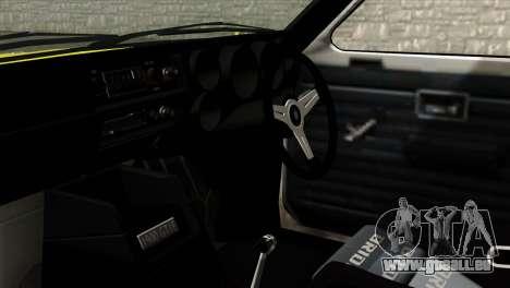 Opel Kadett E GTE 1900 Italian Rally pour GTA San Andreas vue de droite
