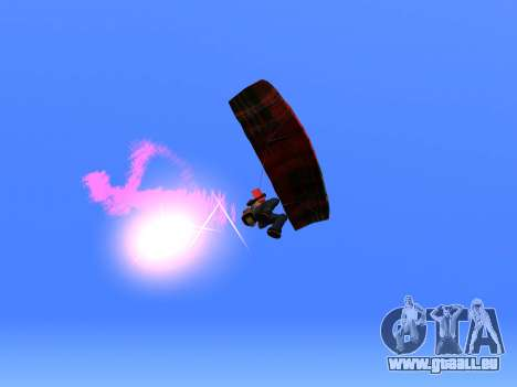 Le Parachute Flare pour GTA San Andreas