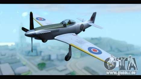 P-51 Mustang Mk4 für GTA San Andreas
