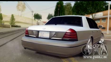 Ford Crown Victoria für GTA San Andreas linke Ansicht