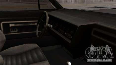 GTA 5 Albany Buccaneer für GTA San Andreas rechten Ansicht
