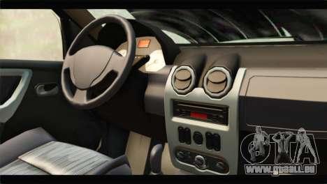 Dacia Sandero Dirty Version für GTA San Andreas rechten Ansicht