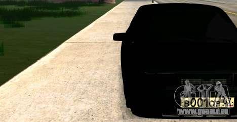 MIT 2112 BUNKER für GTA San Andreas zurück linke Ansicht