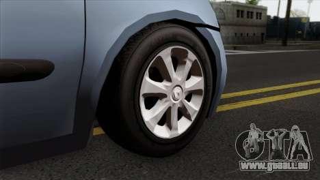 Renault Clio Mio 3P pour GTA San Andreas sur la vue arrière gauche