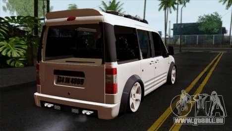 Ford Connect pour GTA San Andreas laissé vue