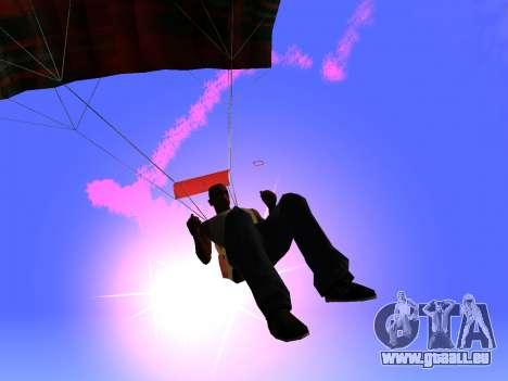 Der Fallschirm Flare für GTA San Andreas zweiten Screenshot