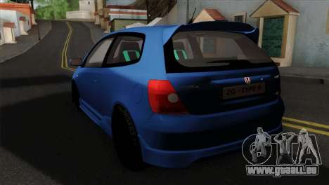 Honda Civic Type R EP3 für GTA San Andreas linke Ansicht