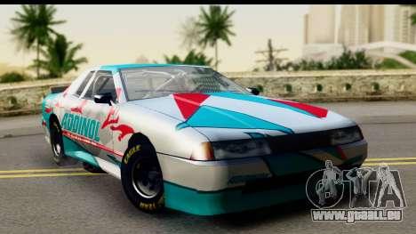 Elegy NASCAR PJ für GTA San Andreas rechten Ansicht