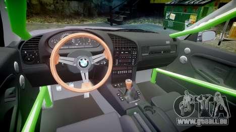 BMW M3 E36 Stance für GTA 4 Rückansicht