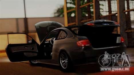 BMW M3 E92 GTS 2012 v2.0 Final pour GTA San Andreas moteur