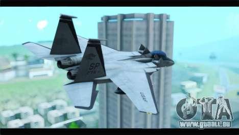 McDonnell Douglas F-15D Timberwolves Squadron pour GTA San Andreas laissé vue