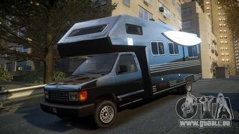 GTA IV Steed Camper für GTA 4 hinten links Ansicht