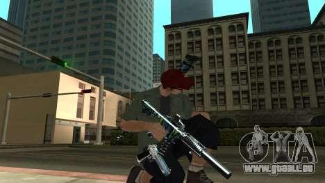 Guns Pack pour GTA San Andreas cinquième écran